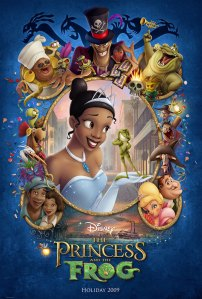 "Poster of ""The Princess and the Frog,"" taken from  the movie's Wikipedia entry."