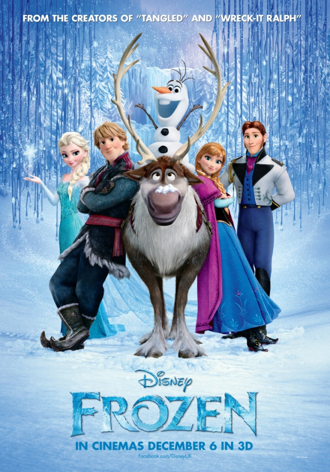 Frozen's UK poster. Image taken from SKWigly.co.uk