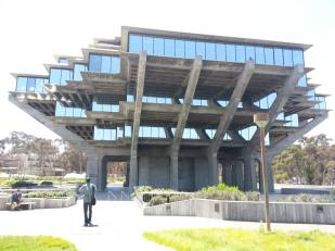 I hear that this library has appeared in two science fiction B-movies as a spaceship.