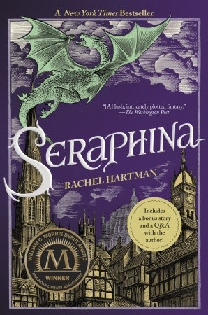 Seraphina by Rachel Hartman. Photo from Goodreads.com